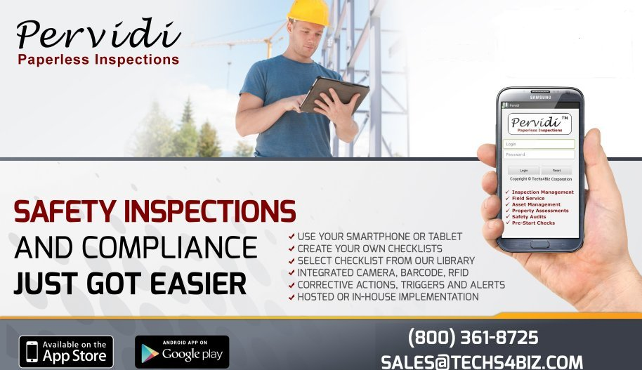 Pervidi Paperless Inspections
